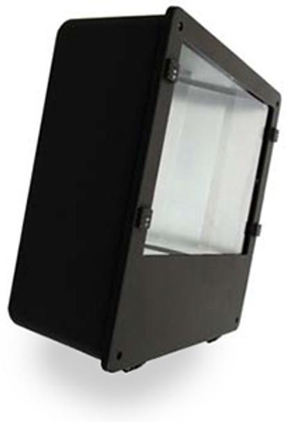 "FI80 80W Induction Square Flood Shoebox Area Light Fixture 16"" Parking Lot Light 80 Watt"