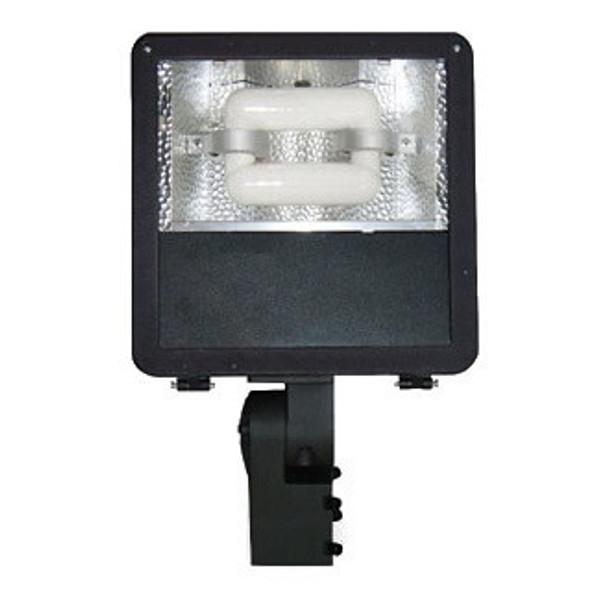 FMM40 40W Induction Mini Shoe Box Light Fixture Wide Angle Reflector, Flood Light, Parking Lot Light 5000K