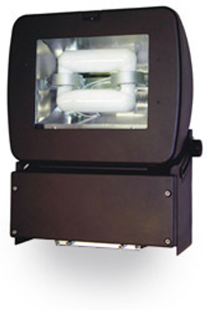 "FM40 Series 40 Watt Induction Flood Light Mini Area Fixture 13"" width, Adjustable Head.40 Watt"