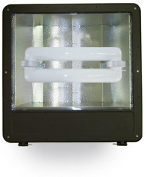 """FSWS400 400W Induction Shoe Box Light Fixture 23"""" Housing, Wide Angle Reflector, Flood Light, Parking Lot Light 400 watt"""