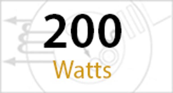 "FSWR200 200W Induction Shoe Box Light Fixture 23"" Housing, Wide Angle Reflector, Flood Light, Parking Lot Light 5000K"