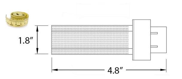 7 Watt LED PL light Bulb Cornlight with 360 degree Beam Angle 5000K, 15w CFL Replacement