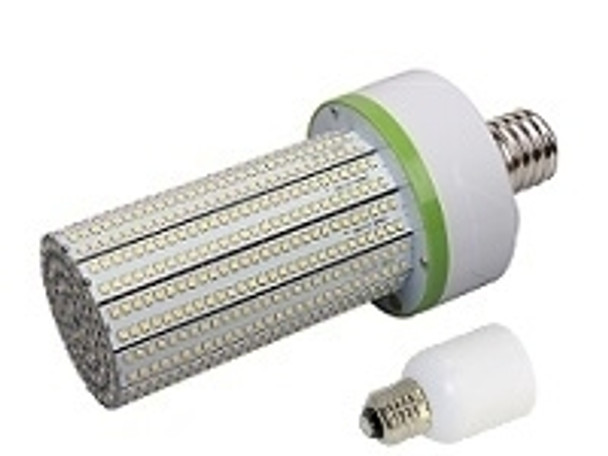 100 Watt LED | Corn Light | LED Cluster | 360 Degree Beam Angle Lamp with Medium (E26/27) Base Adapter UL Listed  5000K HID Replacement