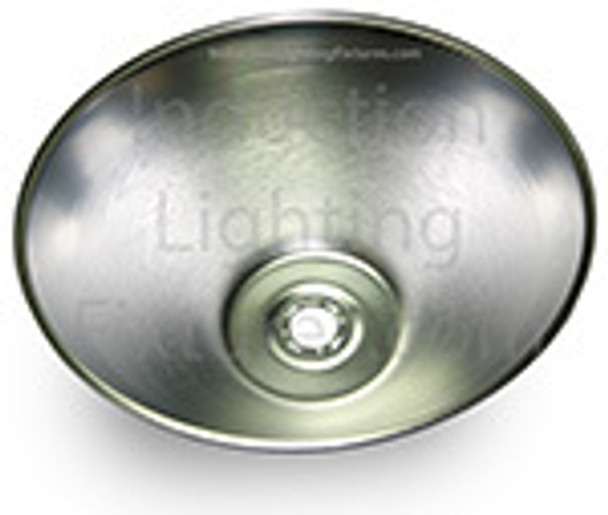 "IHB5 Series 120W Induction High Bay with 22"" Smooth Aluminum Reflector, Warehouse Light Fixture 120 watt"