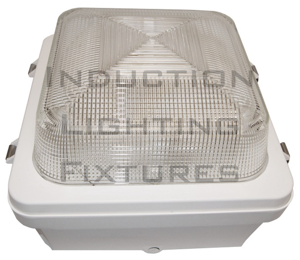 """40w Induction Gas Station / Tunnel 18"""" Fixture for Surface and Canopy Mounting 40 Watt"""