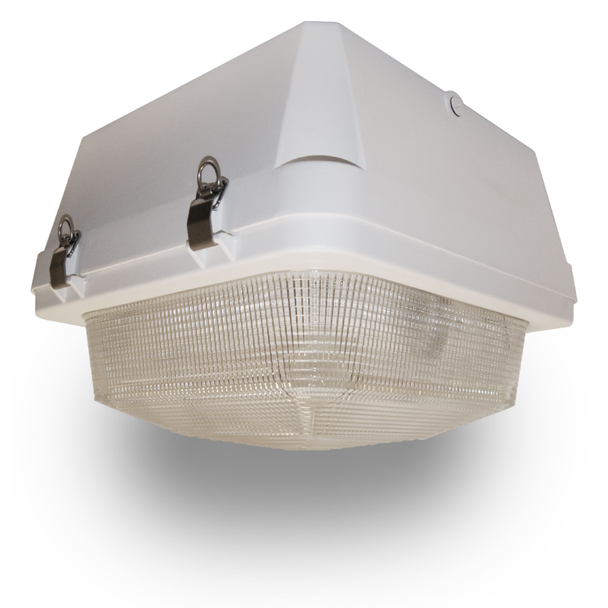 """50w Induction Gas Station / Tunnel 18"""" Fixture for Surface and Canopy Mounting 50 Watt"""