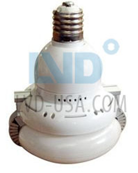 LVD Saturn Series 40W Induction Self Ballasted Retrofit Lamp E26 Medium Base 220v 40 Watt