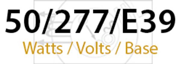 LVD Venus 50W Induction Self Ballasted Retrofit Lamp E39 Mogul Base 277v 50 Watt
