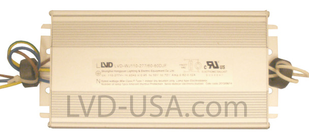 LVD 50w Induction Electronic Ballast Power Supply 110-277v LVD-WJ110-277/60-50DJF 50 Watt **Ballast Only**