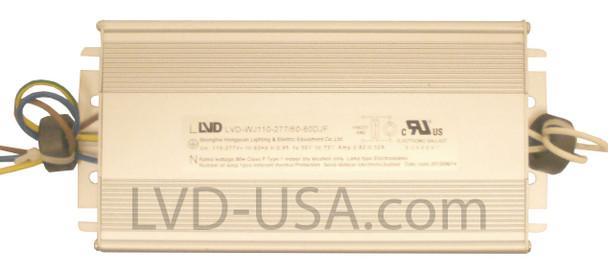 LVD 120w Induction Electronic Ballast Power Supply 110-277v LVD-WJ110-277/60-120DJF 120 Watt **Ballast Only**