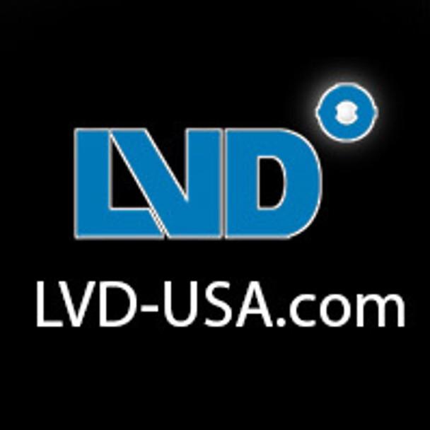 LVD Smart Dragon Series 100W Induction Rectangular Light Square Replacement Lamp 5000k 100 Watt S-100W/RZ **Lamp Only**