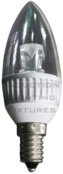2W Candlelight Warm White Candelabra Lamp Bulb 2 Watt