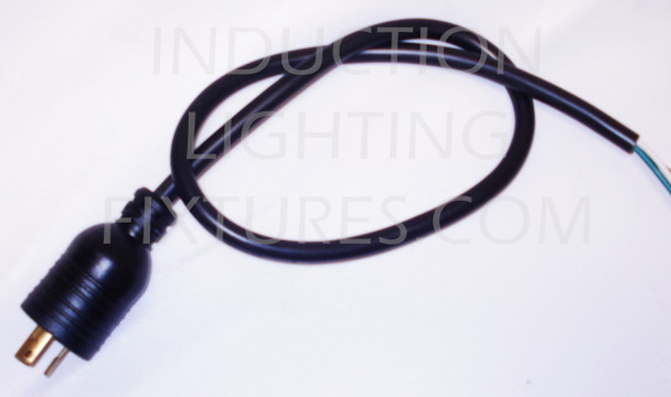 3 Foot Twist Lock 240 Volt Power Cord