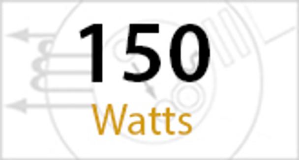 "ILB5150 150W Induction 22"" Aluminum Low Bay Hanging Warehouse Light Fixture 150 watt"