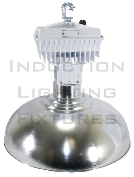 "ILB5250 250W Induction 22"" Aluminum Low Bay Hanging Warehouse Light Fixture 250 watt"