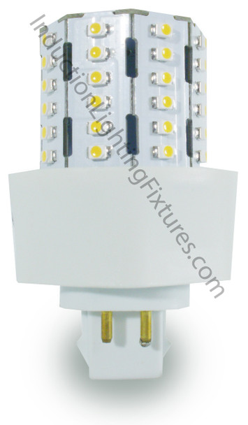 3 Watt LED PL light Bulb Corn light with 360 degree Beam Angle 5000K, 9w CFL Replacement