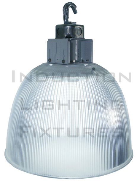 100w LED Clear Acrylic Prismatic High Bay Fixture with 360 Degree LED Lamp 100 Watt