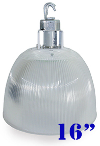 120w LED Clear Acrylic Prismatic High Bay Fixture with 360 Degree LED Lamp 120 Watt