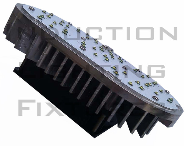 120 Watt High Power LED Light Retrofit Module with Optional Yoke Mount (e39/e40) Base & External Power Supply 5000K Color Temp