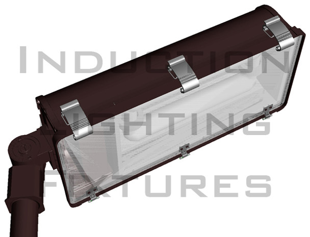 ITL1100 Series 100 watt Induction Street  and Tunnel light Fixture 28 inch Length Surface Mount