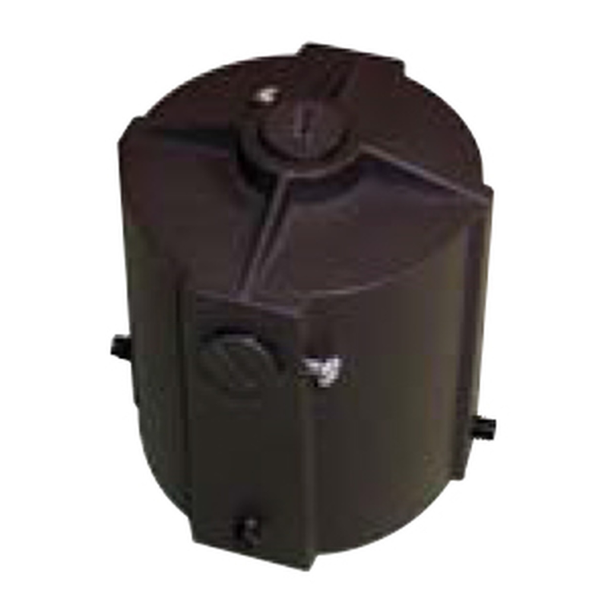 FLFPT Post Top Fitter for Small Round Back Flood Fixture