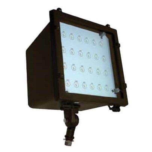 LFL45-5K 45 Watt LED Adjustable Flood Light, Area Light Fixture 120vac - 277vac DLC Certified