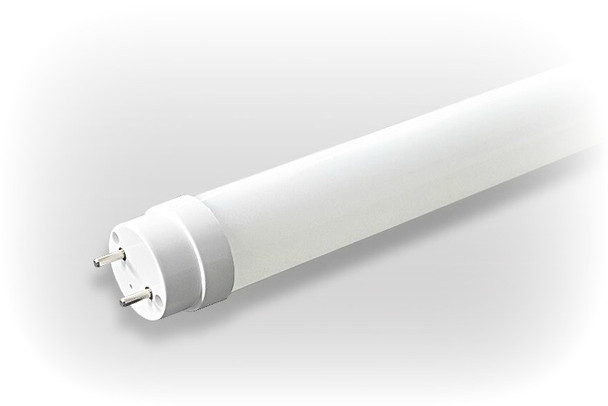 4 Foot 18 Watt LED T8 Cool White UL Listed DLC Lamp with Line Drive(Direct to AC) Technology 5000K Color Temp. Case Only. 30/case