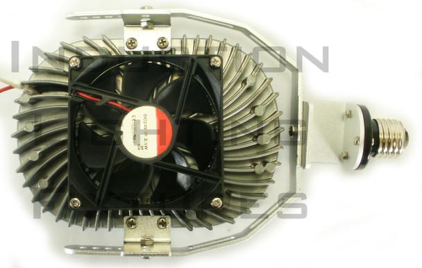120 Watt High Power LED Retrofit Module with Optional Yoke Mount (e39/e40) Base & External Power Supply 3000K Color Temp