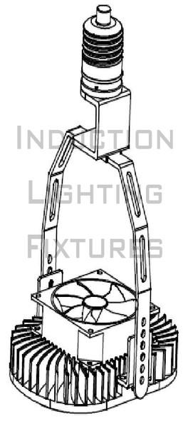 IRK40M-3K 40 Watt LED Retrofit Module with Optional Yoke Mount (e26/e27) Base & External Power Supply 3000K Color Temp