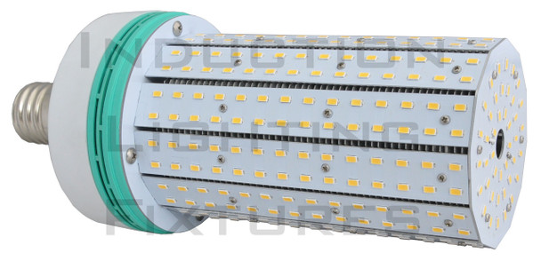 120 Watt LED Corn Light ,LED Corn Cob, LED Cluster, LED 360 Degree Beam Angle Lamp with Mogul (E39/40) Base with External Power Supply 3000K