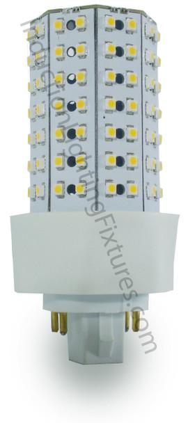 ICF9-3K 9 Watt LED PL light Bulb Cornlight with 360 degree Beam Angle 3000K, 20w CFL Replacement