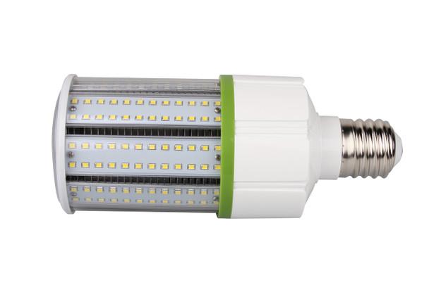 IP64 30W LED Corn Cob light Bulb with 360 Degree Beam Angle Lamp with Mogul (E39) Base UL Listed 3000K. Rugged  LED 30 watt