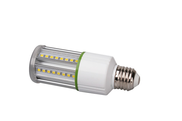 LED Corn Light IP64 7W, SNC-CLW-7WA1 7 Watt LED HID, 360 Degree Beam Angle E26/E27 Base UL 5000K