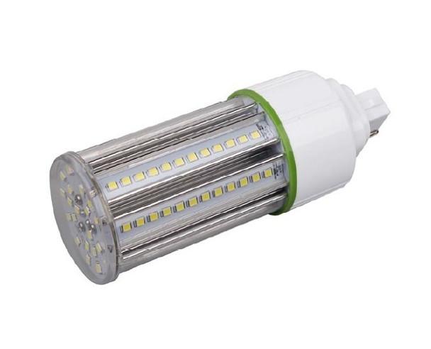 15 Watt LED Corn Light, LED CornCob PL, LED Cluster 360 Degree Beam Angle Lamp with with G24d (2 Pin) Base 3000K