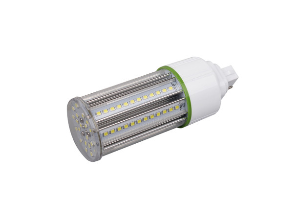 15 Watt LED Corn Light, LED CornCob PL, LED Cluster 360 Degree Beam Angle Lamp with with G24d (2 Pin) Base 3000K