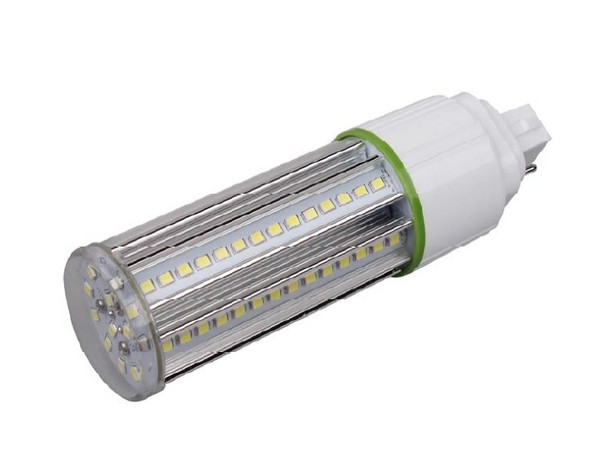 12 Watt LED Corn Light, LED CornCob PL, LED Cluster 360 Degree Beam Angle Lamp with with G24q (4 Pin) Base 4000K