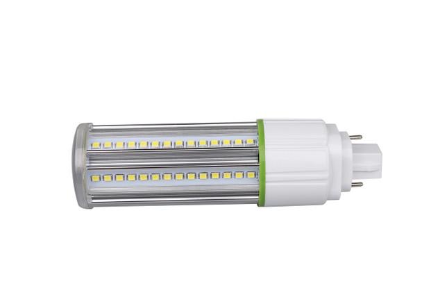 12 Watt LED Corn Light, LED CornCob PL, LED Cluster 360 Degree Beam Angle Lamp with with G24q (4 Pin) Base 3000K