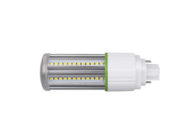 9 Watt LED Corn Light, LED CornCob PL, LED Cluster 360 Degree Beam Angle Lamp with with G24d (2 Pin) Base 4000K