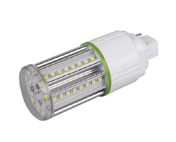 7 Watt LED Corn Light, LED CornCob PL, LED Cluster 360 Degree Beam Angle Lamp with with G24d (2 Pin) Base 3000K