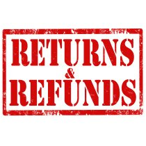 Returns and refunds icon