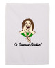 Divorce Gift Hand Towel for Women Divorced B*tches White 11x18 Inches
