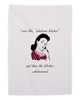 Funny Gift Hand Towel for Women Whatever Bitches White 11x18 Inches