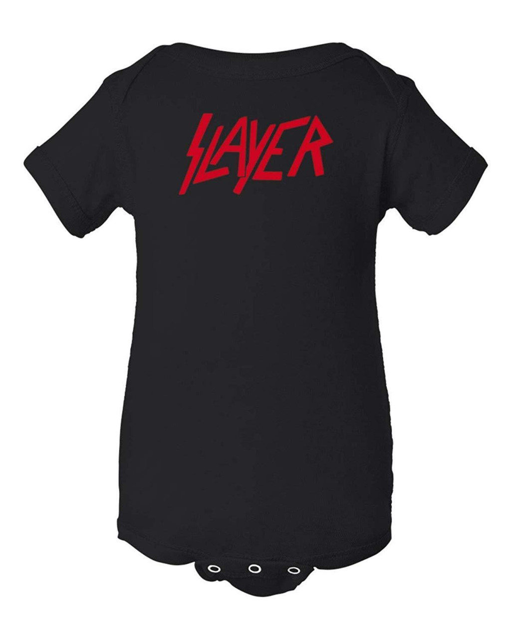 Slayer Thrash Speed Metal Rock & Roll Black Bodysuit Infant Baby Clothes