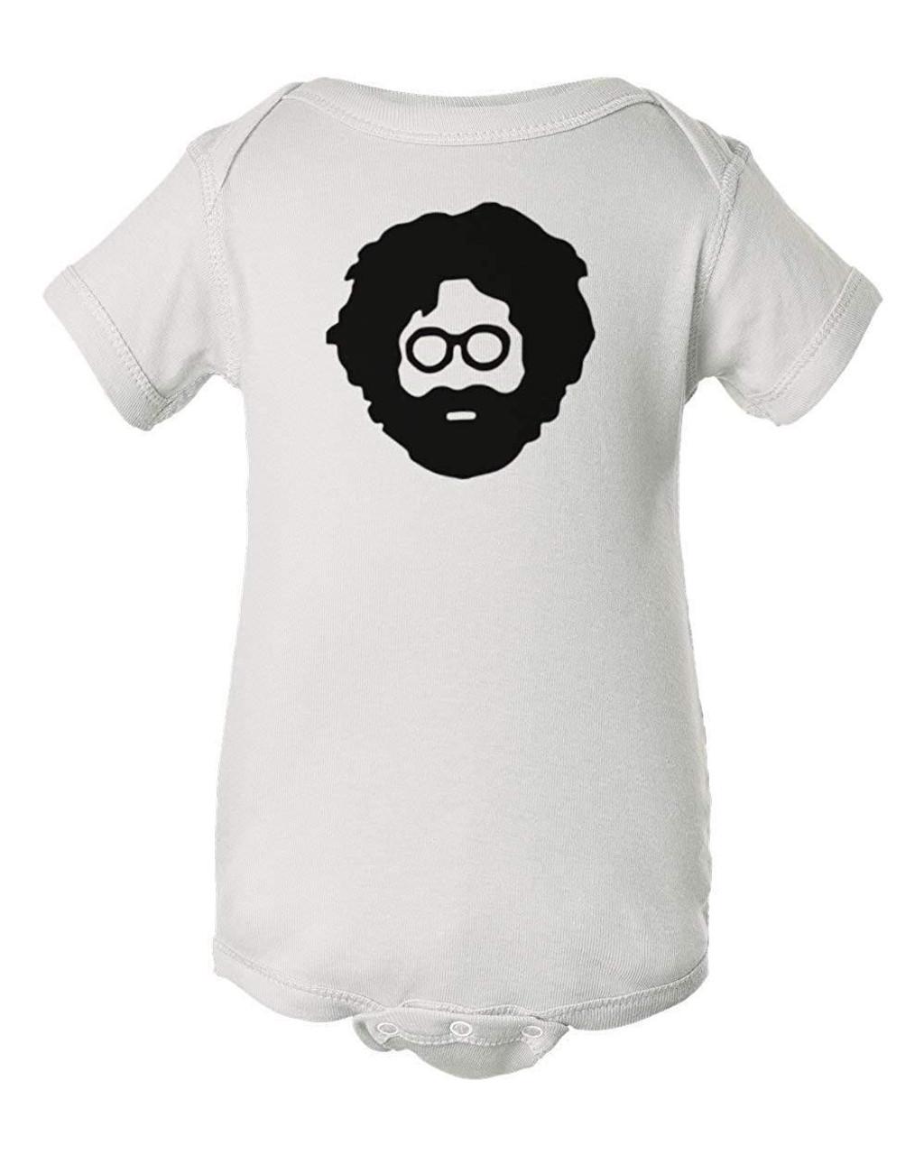 Jerry Wavy Gravy Garcia Baby Grateful Hippie Dead Infant Bodysuit