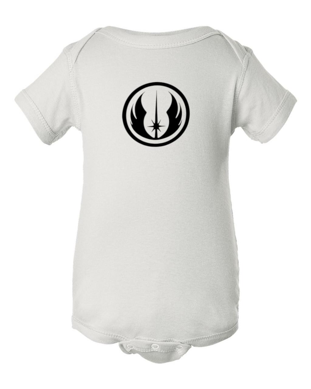 Jedi Order Symbol & Emblem Baby Bodysuit Infant Star Force Wars