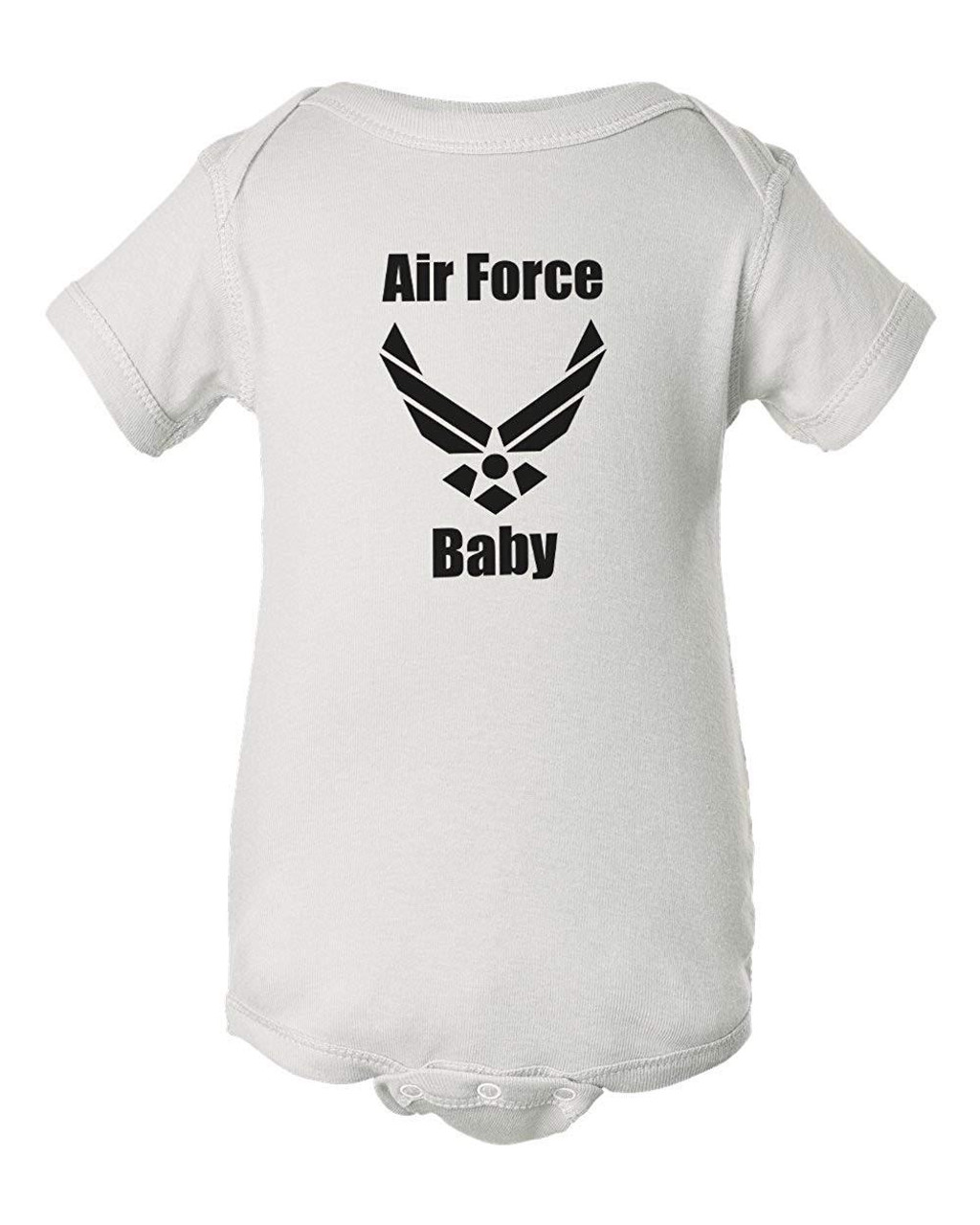 Air Force Baby White Bodysuit Infant Romper