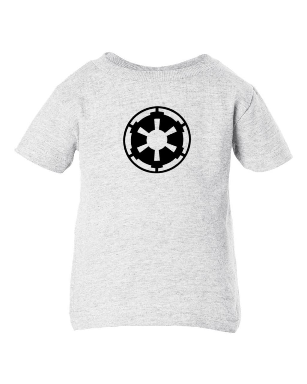 Storm Trooper Imperial Empire Emblem Baby Toddler Ash T-Shirt