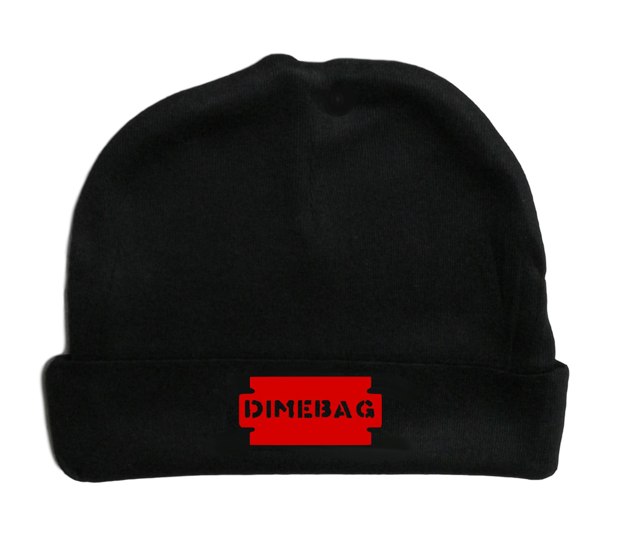 Dimebag Thrashing Darrell Metal Rock & Roll Infant Baby Beanie Cap Red Logo