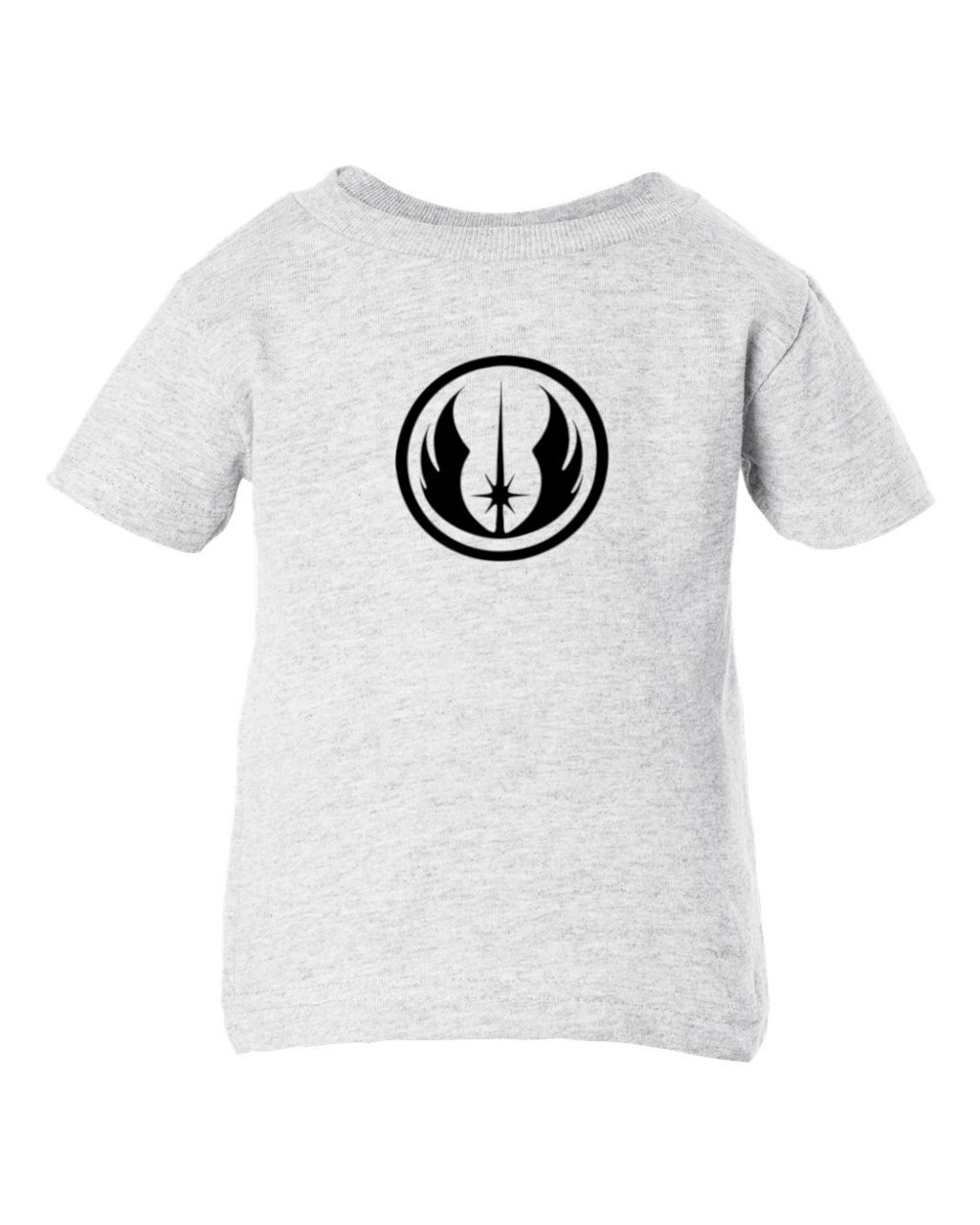 Jedi Order Symbol & Emblem Baby Toddler Cotton Ash T-Shirt