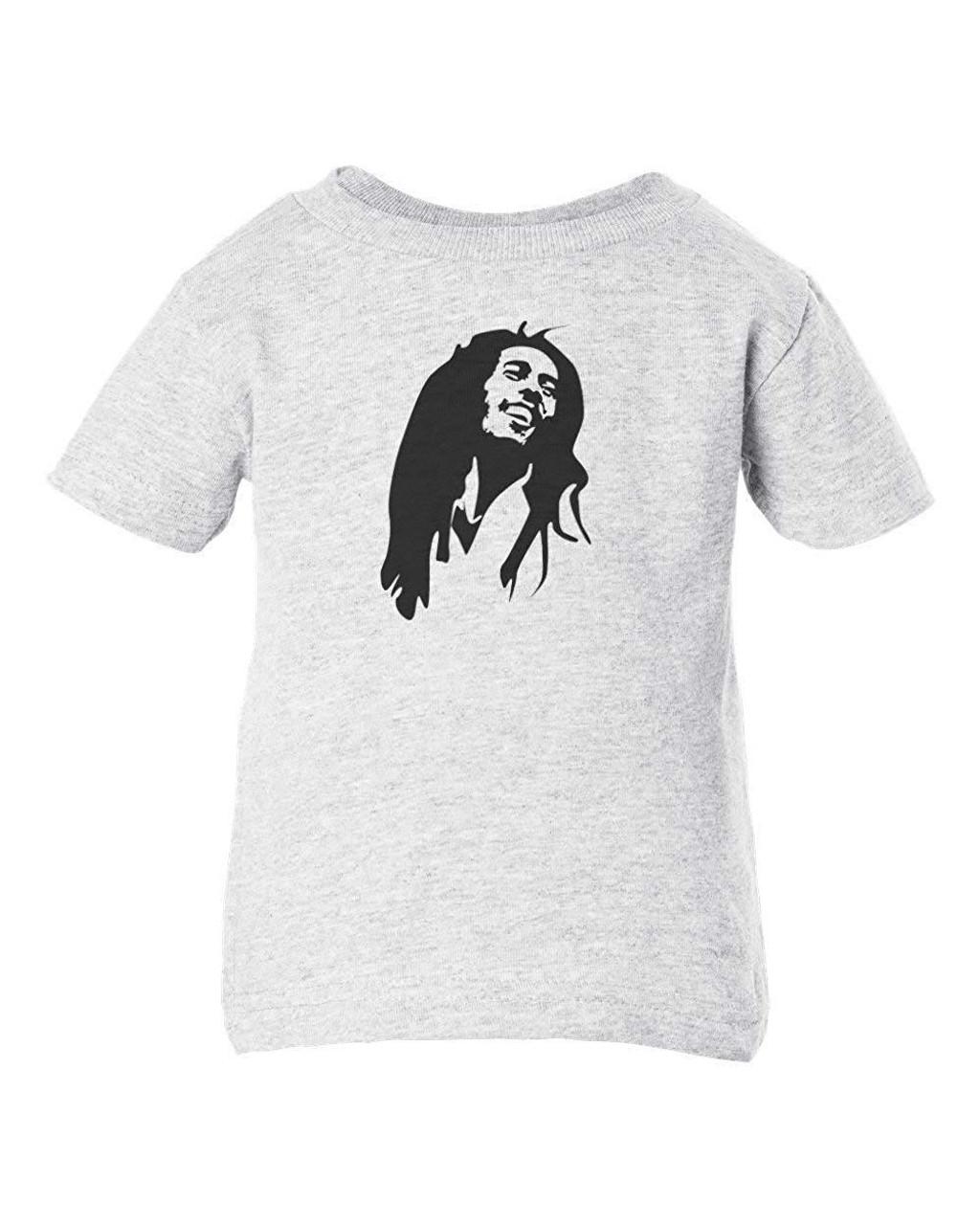 Bob Da Wailer Marley Reggae Baby & Toddler T-Shirt Ash